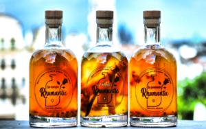 3 bouteilles de rhumantic