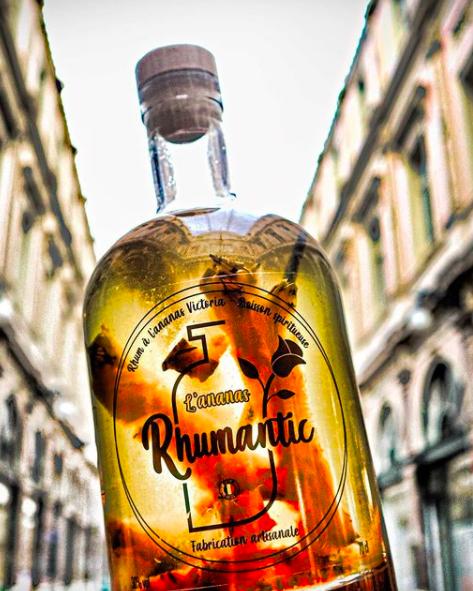 bouteille de rhumantic