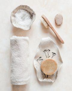 produits de salle de bain