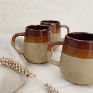 3 tasses céramiques