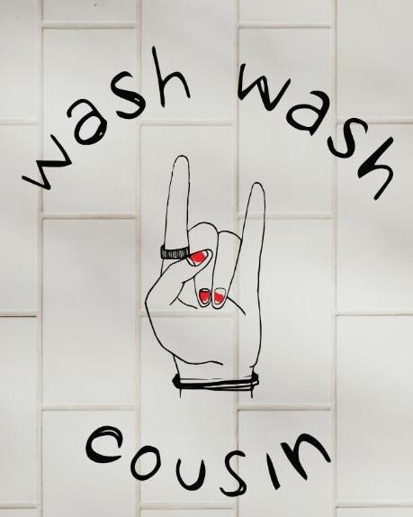Logo Wash Wash Cousin